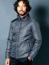 NYLON THINSULATE STAND RIDER JKT
