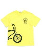 自転車プリントTシャツ