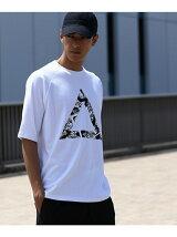 トライアングルグラフィックTシャツ