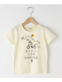 SHOO・LA・RUE/Kids 恐竜半袖Tシャツ シューラルー カットソー