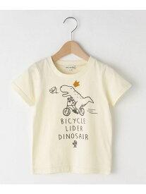【SALE/20%OFF】SHOO・LA・RUE/Kids 【80-130cm】恐竜半袖Tシャツ シューラルー カットソー【RBA_S】【RBA_E】
