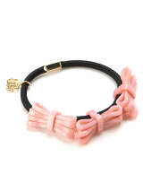 (W)catherine three bow hair elastic