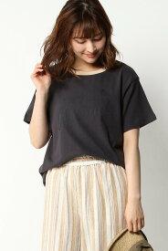 【SALE/47%OFF】ikka シンプルロゴTEE イッカ カットソー Tシャツ グレー ホワイト ブラック グリーン ベージュ