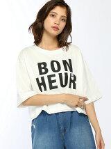 ボヌールワイドTシャツ