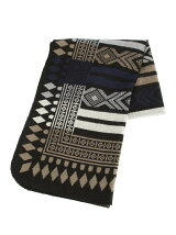 BRID/CAPEBlanket Tribal BK ブラック
