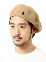 BEAMS / スターピン ベレー帽