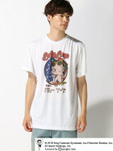BETTYBOOP/(M)BETTYBOOP TEE AMERICAN