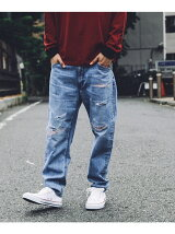 Lee for tk.TAKEO KIKUCHI リメイクデニムパンツ