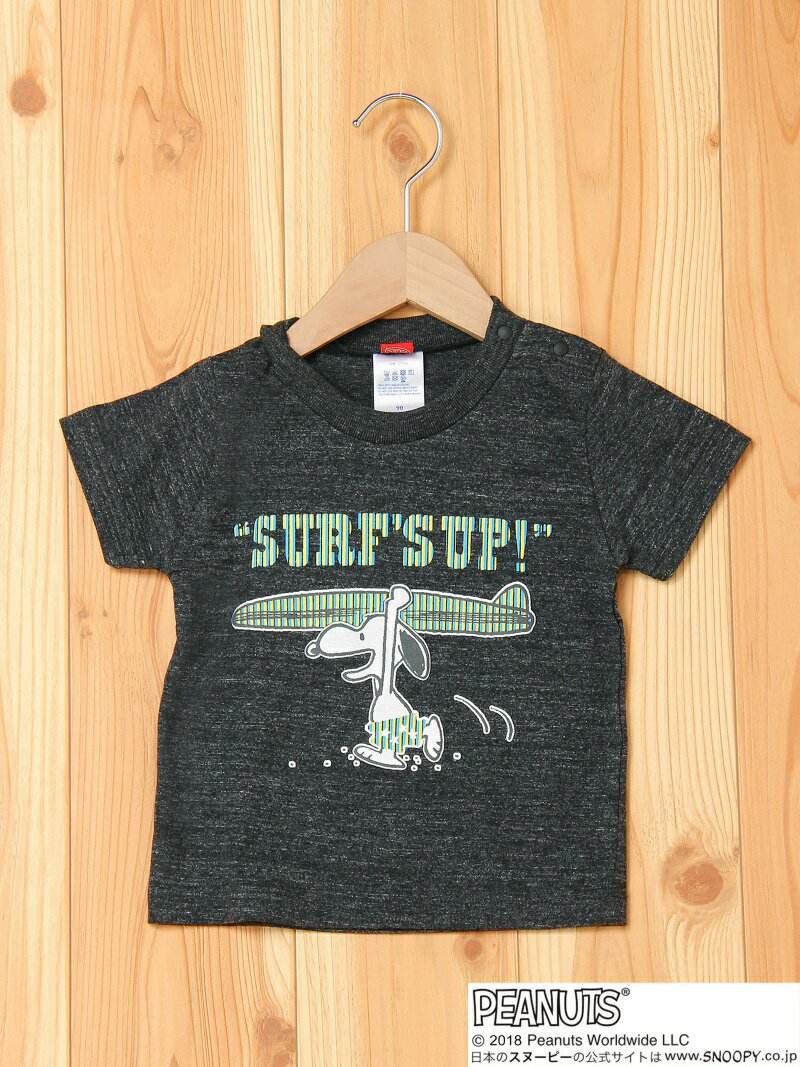 BOO HOMES/BACK ALLEY/Natural Boo S/S TEE surf's UP ブーフーウー カットソー【送料無料】