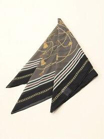 LOWRYS FARM アソートスカーフ ローリーズファーム ファッショングッズ スカーフ/バンダナ ブラック ブラウン ホワイト