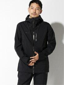MAMMUT MAMMUT/(M)Kento HS Hooded Jacket Men マムート コート/ジャケット コート/ジャケットその他 ブラック【送料無料】