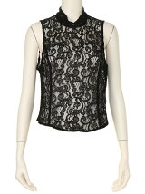 BACK OPEN LACE TOPS