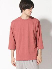 GLOBAL WORK (M)USAヘビーDRYT/7S グローバルワーク カットソー Tシャツ オレンジ ブラウン ブルー ホワイト
