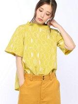 レモン刺繍ブラウス