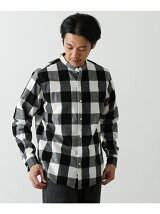 GYMPHLEX 60/2ビエラ起毛チェックシャツ
