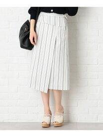 【SALE/50%OFF】Feroux TRリネンライクツイル スカート フェルゥ スカート スカートその他 ホワイト オレンジ ブルー ブラック【送料無料】