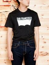 バットウィングTシャツ-SAN FRANCISCO