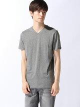 (M)無地Vネック半袖Tシャツ・カットソー(オンライン限