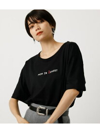 【SALE/50%OFF】AZUL by moussy DAD&MOMTEE/ダッド&マムTシャツ アズールバイマウジー カットソー カットソーその他 ブラック ホワイト