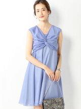 JPCL フロントネジリ フレアワンピース / 結婚式 / オケージョン / 二次会 / 披露宴 / フォーマル / パーティー / PARTY / ドレス