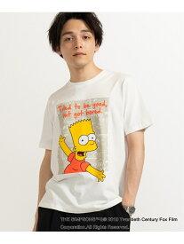 【SALE/35%OFF】0/(M)別注シンプソンズプリントTシャツ(S) ウィゴー カットソー【RBA_S】【RBA_E】