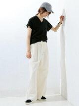 ○UWBT イージー パンツ WHITE