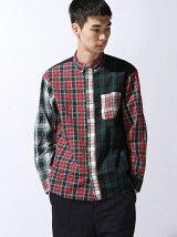 BEAMS / ブロード クレイジー ミニボタンダウンシャツ