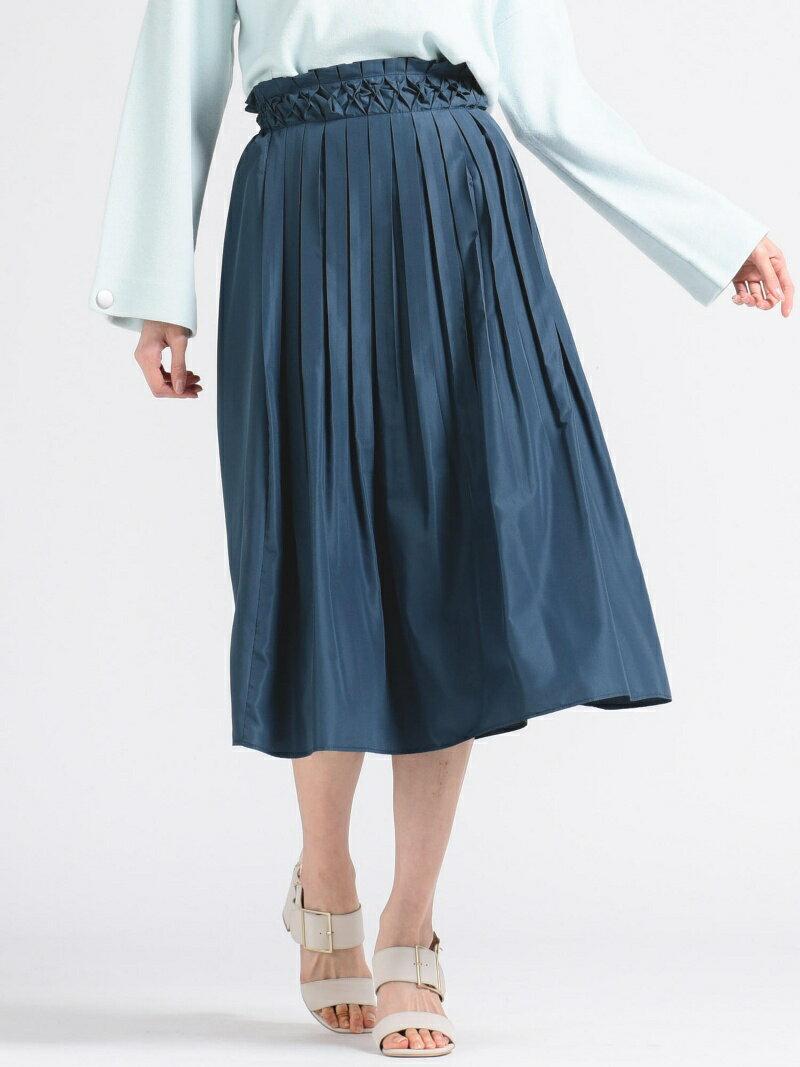 【SALE/70%OFF】MAYSON GREY ウエストスモッキングスカート メイソングレイ スカート【RBA_S】【RBA_E】