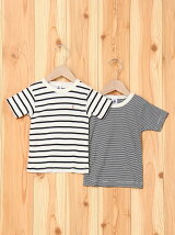 (K)マリニエール&ミラレ半袖Tシャツ2枚組