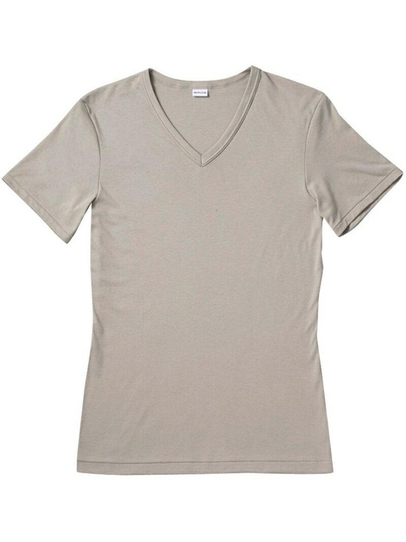 BROS BROS 半袖シャツ 綿100% V首 ブロス インナー/ナイトウェア