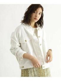 【SALE/70%OFF】OZOC [洗える]ミリタリーCPOジャケット オゾック コート/ジャケット ミリタリージャケット ホワイト ベージュ