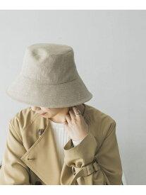 URBAN RESEARCH La Maison de Lyllis LINEN POTHAT アーバンリサーチ 帽子/ヘア小物 ハット ホワイト ブラック【送料無料】
