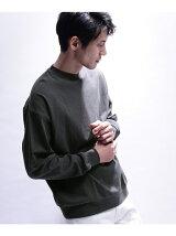ビックシルエット 空紡糸ロングスリーブT-シャツ