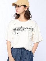 ブラインドビーズルーズポケTシャツ