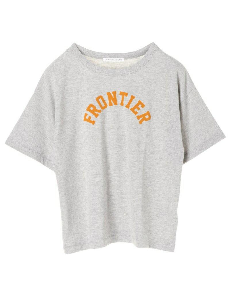 E hyphen world gallery peace フロッキーロゴPt Tシャツ イーハイフンワールドギャラリー カットソー
