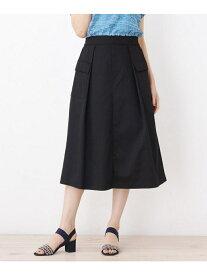 【SALE/37%OFF】grove ツイルワークテイストスカート グローブ スカート スカートその他 ブラック カーキ ブラウン