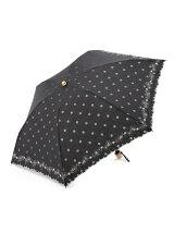 EN12 ドットオパール柄 折りたたみ傘/日傘