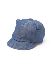 【SALE/50%OFF】COMME CA ISM 耳付 キャップ コムサイズム マタニティー/ベビー【RBA_S】【RBA_E】