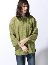 (M)ZIP FIVE ビッグシルエットパナマシャツ