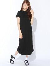 HIGH NECK LONG DRESS/ワンピース