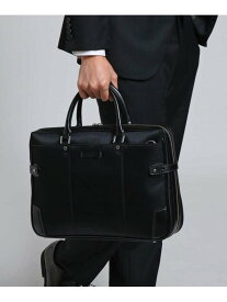 TAKEO KIKUCHI 【WEB限定】コンパクトビジネスバッグ タケオキクチ バッグ ビジネスバッグ ブラック ネイビー グレー【送料無料】