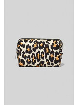 THE BEAUTY LEOPARD TRIANGLE POUCH