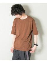 コットン/ソロテックス ニットTシャツ