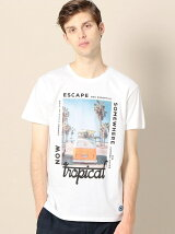 <MAP OF SKY> ESCAPE TEE/Tシャツ