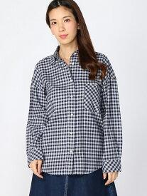 【SALE/30%OFF】YANUK YANUK/(W) オーバーサイズシャツ KATE(ケイト)/57173835 ディヴィニーク シャツ/ブラウス 長袖シャツ ネイビー ホワイト【送料無料】