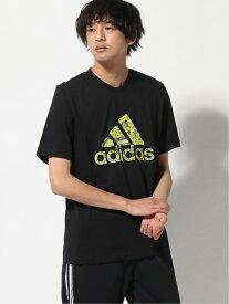 【SALE/52%OFF】adidas Sports Performance ブランドテープ ロゴ グラフィック 半袖Tシャツ [Branded Tape Logo Graphic Tee] アディダス アディダス カットソー Tシャツ ブラック ホワイト