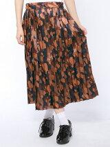 【WEGO】【Dispark】(L)カモフラプリーツスカート