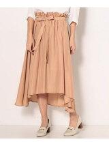 [HIRARI COLLECTION]ヴィンテージサテンスカート