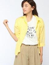 綿麻2WAYワイヤーシャツ