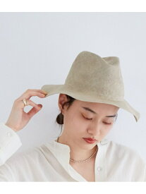 【SALE/50%OFF】Adam et Rope' Le Magasin 【Benelli Montacone】HAT without Ribbon アダム エ ロペ ル マガザン 帽子/ヘア小物 ハット ホワイト ブラウン